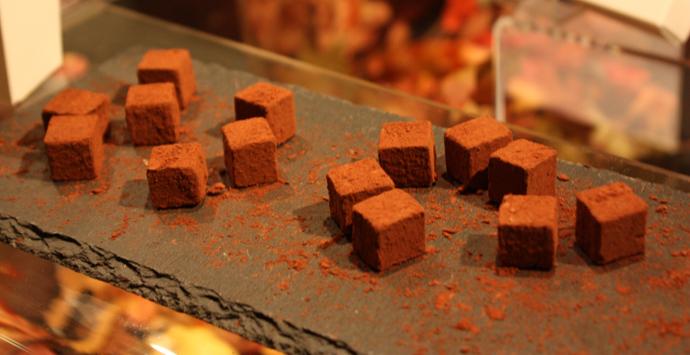 St Jakob chocolate pavés - Gourmesse 2013 - copyright Véronique Gray