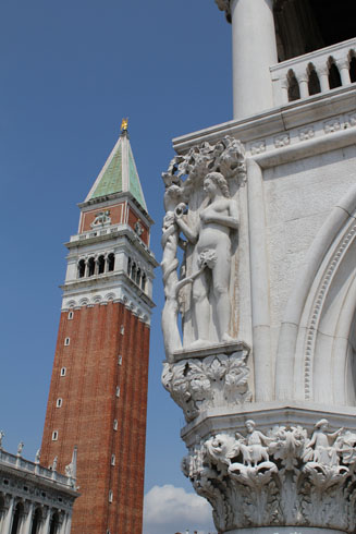 Campanile and Dodge Palace on St Marco Square