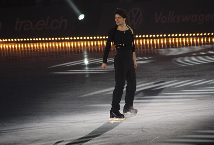 Stephane Lambiel Art on Ice 2015l - credit photo Veronique GRAY