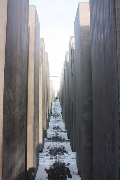 Stones at the Memorial for the murdered Jews during WWII, Berlin