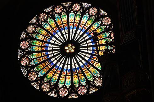 Cathedral of Strasbourg Grande Rose