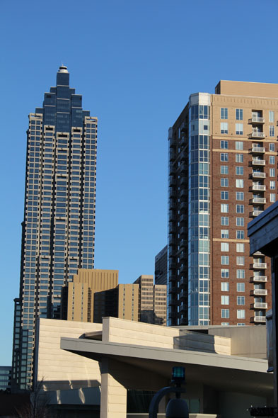 Suntrust Plaza Peachtree street Atlanta (Left)