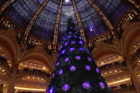 The Galeries Lafayette celebrate the 100th year of their dome