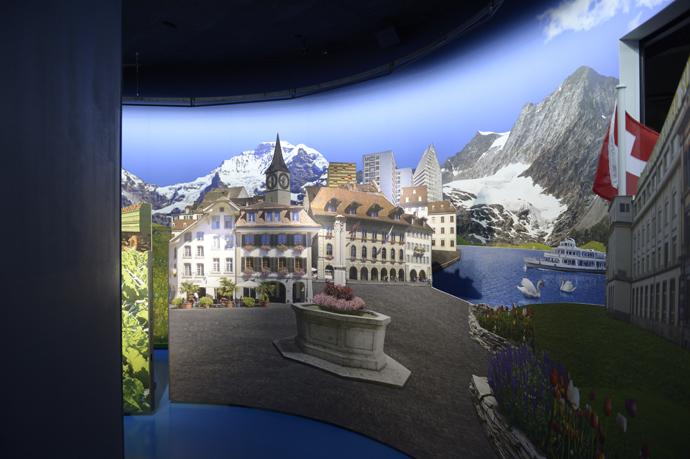Swiss Chocolate Adventure at the Swiss Transport Museum in Lucerne (PHOTOPRESS/Sigi Tischler)