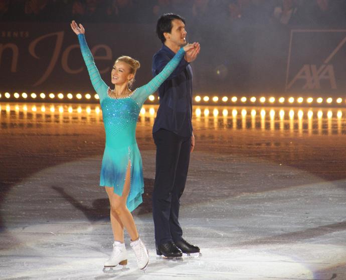 Tatiana Volosozhar and Maxim Trankov Art on Ice 2015 in Zurich  - credit photo Veronique Gray
