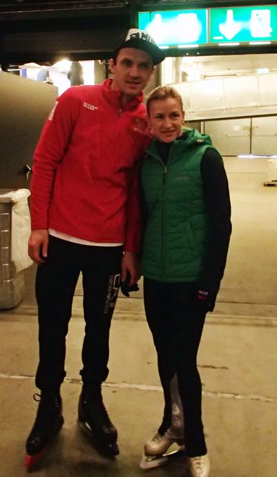 Tatiana Volosozhar and Maxim Trankov at Art on Ice in Zurich  - copyright Veronique Gray