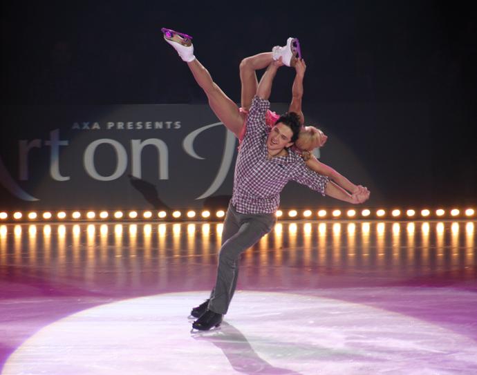 Tatiana Volosozhar and Maxim Trankov, Art on Ice 02013 - copyright Véronique Gray