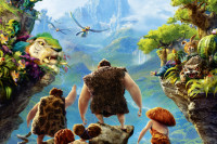 "Animated film in 3-D ""The Croods"" from DreamWorks"
