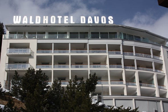 The Waldhotel in Davos
