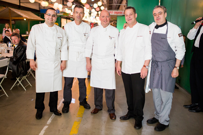 The chefs of the hosting hotels - Il Tavolo 2013 - Copyright Il Tavolo