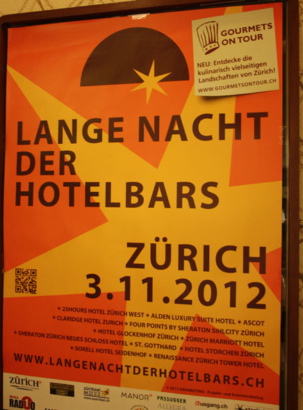 The longest night of hotel bars poster