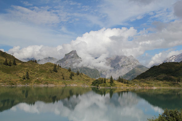 Trubsee in July (Engelberg, Switzerland)