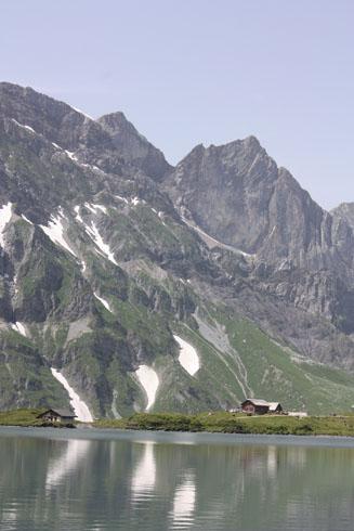 Truebsee mountains near Titlis