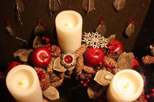 UBS Christmas box - candles