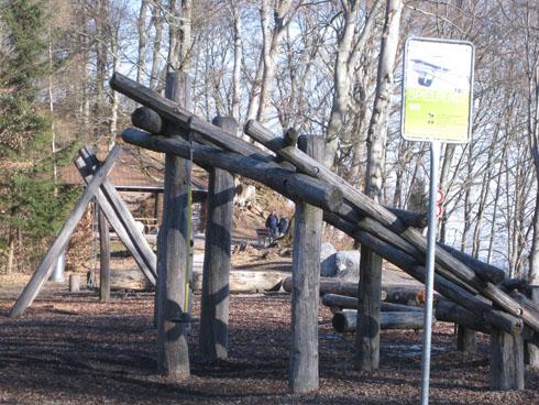 Uetliberg playground (way down to Triemli station)