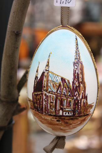 St. Stephen Dom on an Easter egg