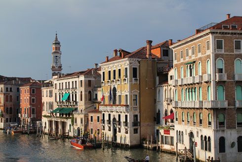 View of the Canal Grande from Rialto