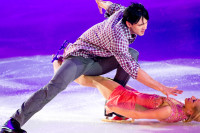 Maxim Trankov and Tatiana Volosozhar from Zurich to the Kremlin