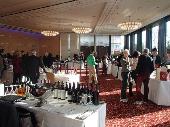 Wine workshop at the Marriott hotel in Zurich
