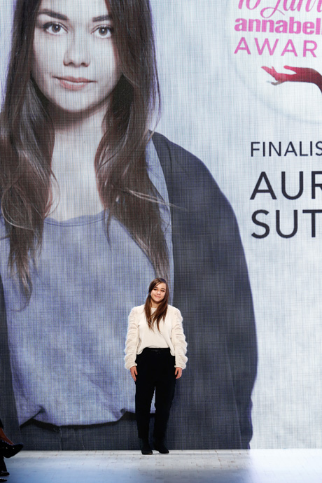 Annabelle Award - Winner Aurelie Sutter - copyright Mercedes-Benz Fashion Days Zurich 2013