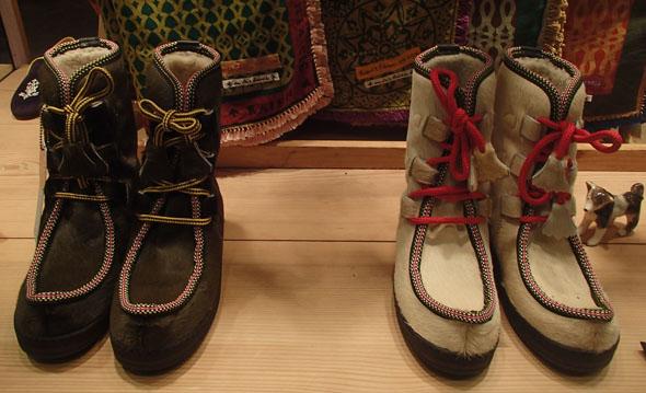 winter shoes at En Soie, Zurich