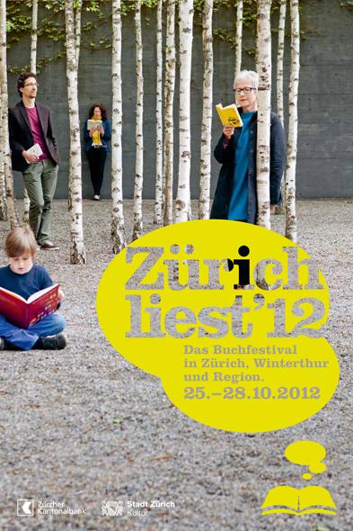 ZL12 Keyvisual - Zurich Liest 2012 - copyright ZL