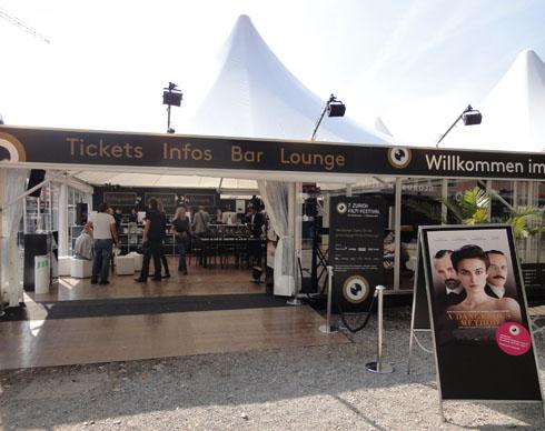 Zurich Film Festival tent