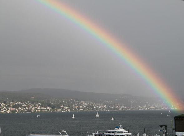 Zurich rainbow