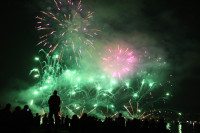 Parente Fireworks tonight July 5th at 10:30 p.m in Zurich