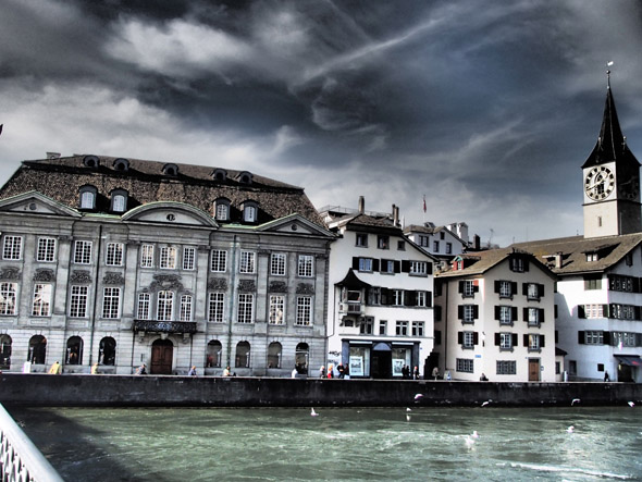 Zurich, taken from the Münster bridge