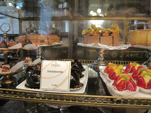 pastries at Demel, Vienna