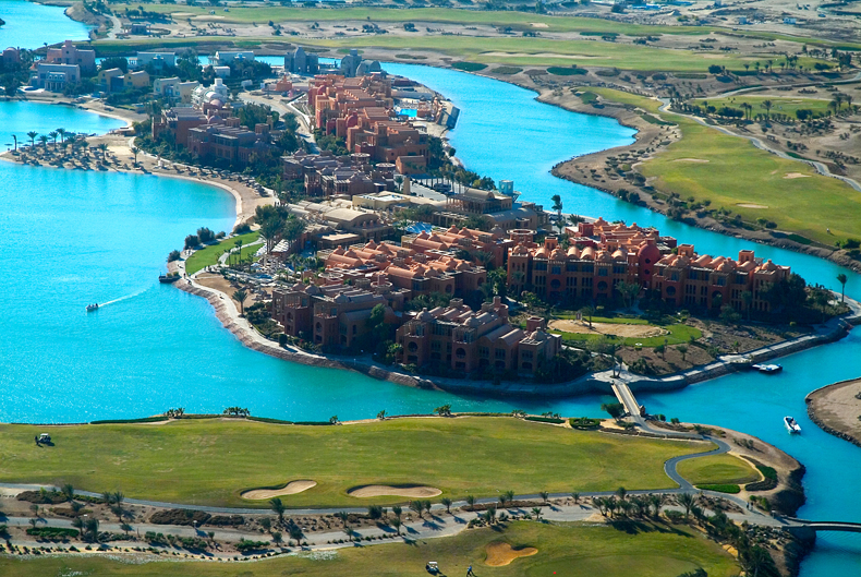 El Gouna and gol course