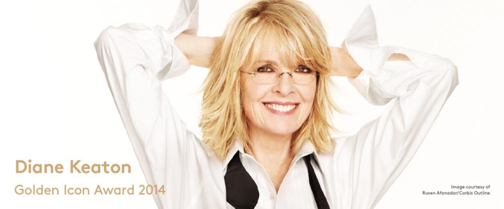 Diane Keaton Golden Icon Award 2014 - copyright ZFF