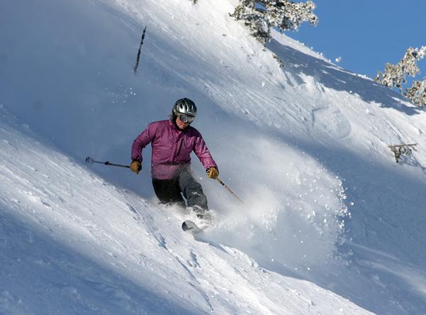 female Telemark copyright Alta-Snowbird