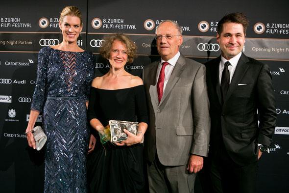 Nadja Schildknecht, Corine Mauch, Johann Schneider Ammann and Karl Spoerri - copyright ZFF