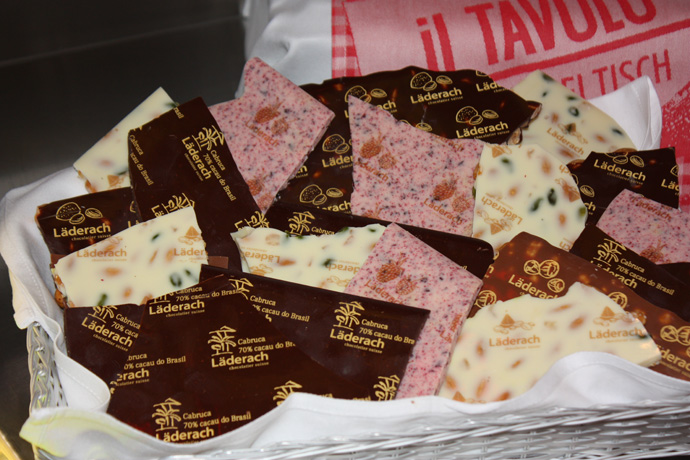 il TAVOLO and Läderach chocolate - copyright Veronique GRAY