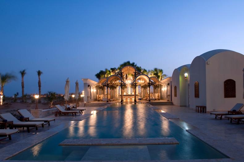 La maison bleue el gouna poolbar - credit Orascom Hotels