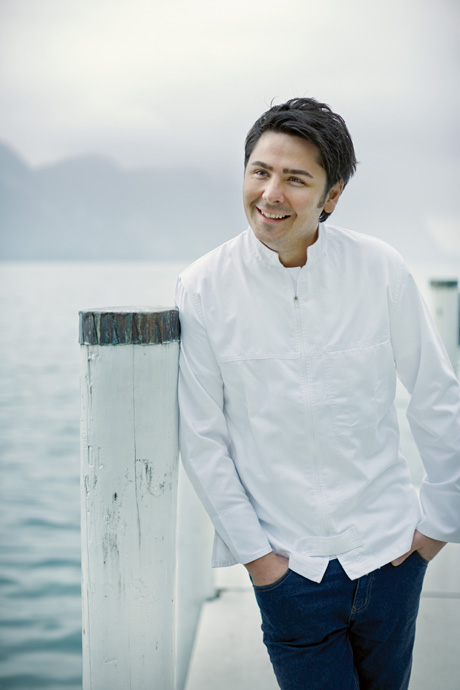 Nenad Mlinarevic, Head Chef at Restaurant Focus, Park Hotel Vitznau - photo Globus
