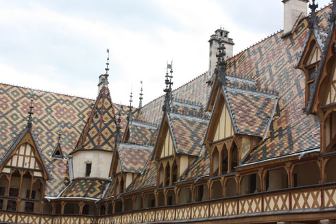 Roof of Hospice of Beaune
