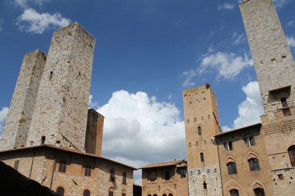 San Gimignano towers, Tuscany (Italy)