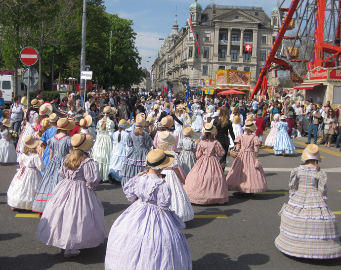 sechseläuten children's parade