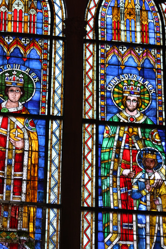 Stainglass window -Strasbourg cathedral