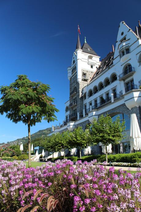 the Park Hotel Vitznau - copyright Veronique Gray