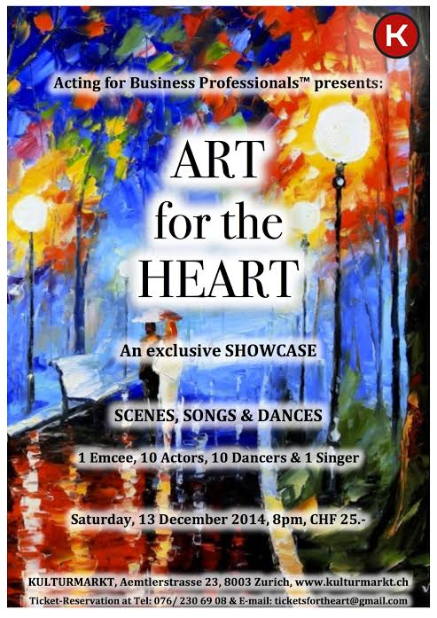 Art for the Heart Poster - copyright Kulturmarkt