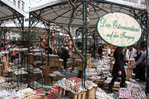 Vienna Eastermarkt AltWiener market