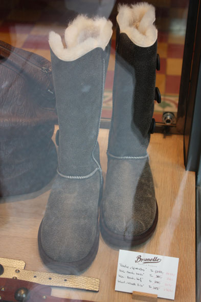 warm winter boots at Brunello