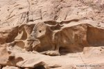 Egyptian rock carving