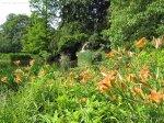 Fleur de Lys Parisian garden