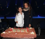 dionne-bromfield-and-emily-bear-in-front-of-dionnes-cake