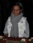 emily-bear-admiring-dionnes-birthday-cake